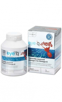 Equazen® eye q® chews košļājamās kapsulas N360 (Equazen® eye q® chews N180 + Equazen® eye q® chews N180)